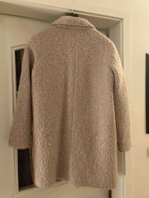 Tommy Hilfiger Abrigo de lana rosa empolvado Lana