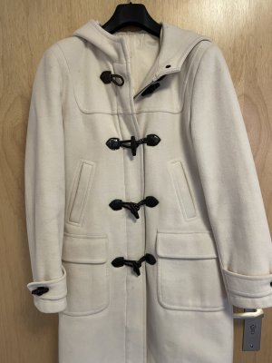 keine Marke bekannt Hooded Coat natural white alpaca wool