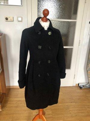 Whistles Manteau en laine noir