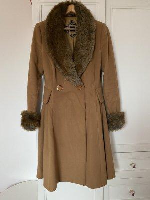 Armine Manteau d'hiver chameau