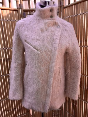 Zara Cappotto in lana rosa antico-rosa pallido