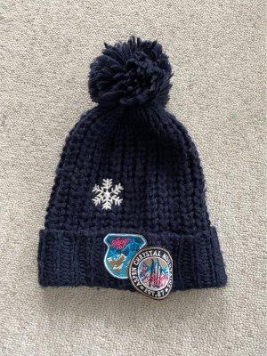 Franco Callegari Knitted Hat dark blue