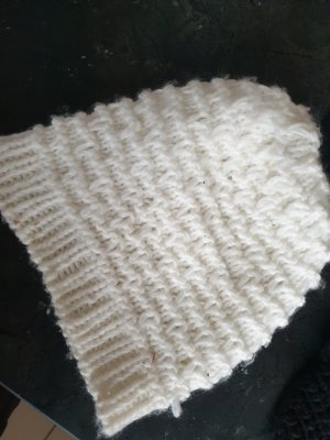 NoName Knitted Hat natural white