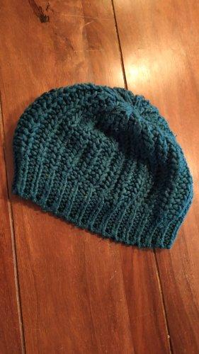 Pimkie Chapeau en tricot bleu cadet