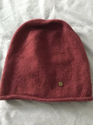 Esprit Sombrero de punto rojo oscuro