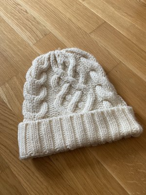 & other stories Chapeau en tricot blanc cassé-blanc