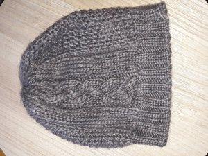 H&M Gorra marrón grisáceo-marrón claro