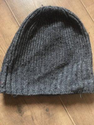 H&M Chapeau en tricot gris