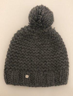 Esprit Cappello con pon pon grigio