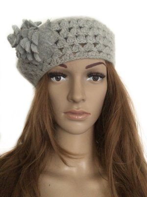 Accessorize Beret silver-colored-light grey