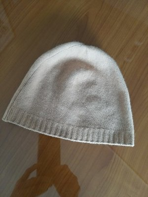 Benetton Knitted Hat camel wool