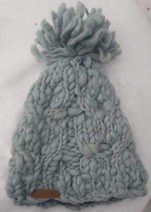 keine Cappello a maglia grigio chiaro