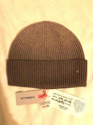 Codello Knitted Hat beige-light brown