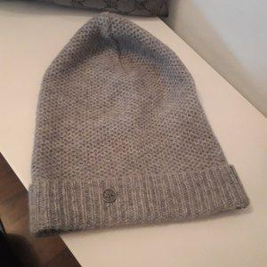 Arqueonautas Chapeau en tricot gris clair