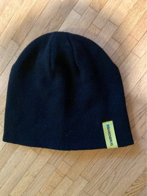 Barenbrug Knitted Hat yellow-dark blue
