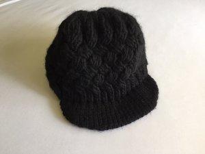 C&A Sombrero de punto negro