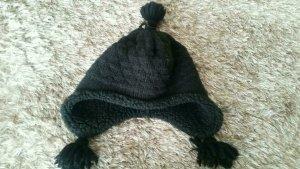 Mc Burn Chapeau en tricot noir