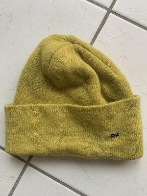 Opus Cappello a maglia giallo lime Lana