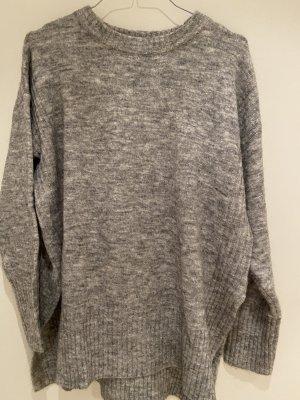 H&M Wełniany sweter Wielokolorowy Wełna z alpaki