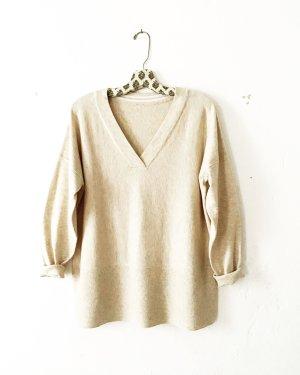 wollpulli • beige • oversized • pastell