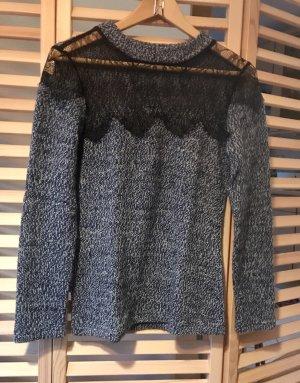 0039 Italy Pull en laine multicolore laine alpaga