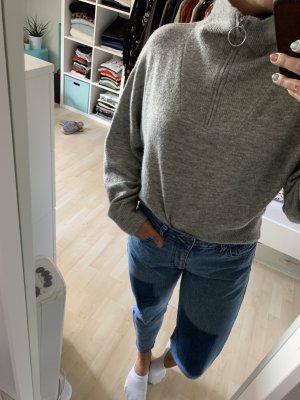 Wollpulli grau S