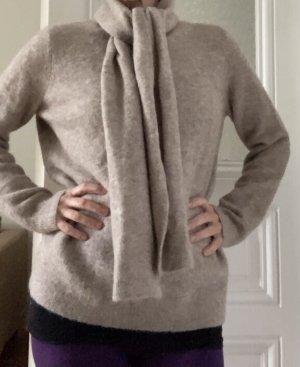 COS Jersey de punto camel lana de alpaca
