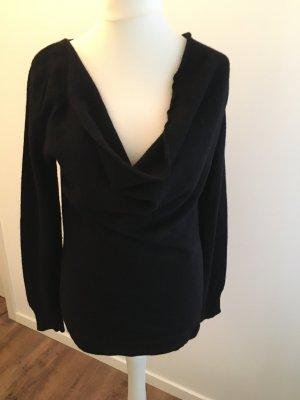 Benetton Wollen trui zwart