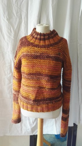 Blutgeschwister Turtleneck Sweater multicolored wool
