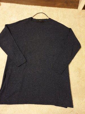 Vera Moda Sweter oversize ciemnoniebieski-stalowy niebieski