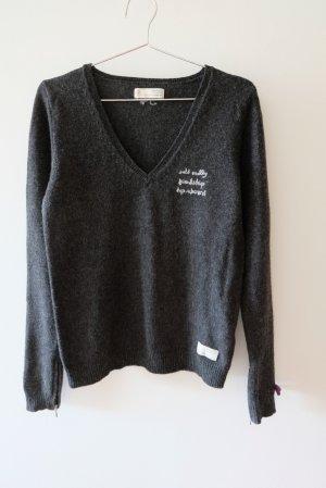 Odd Molly Maglione di lana antracite