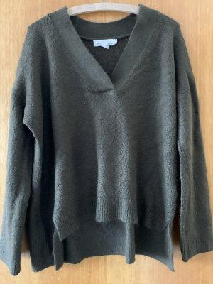 H&M L.O.G.G. Jersey de lana verde oscuro