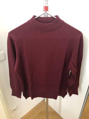 Wool Sweater bordeaux