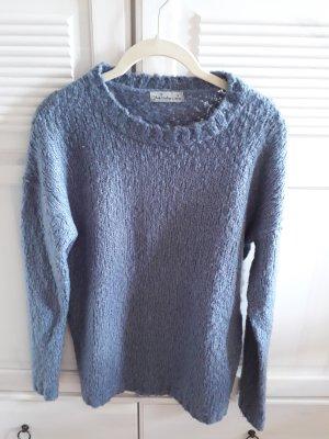 Wollpullover Grau