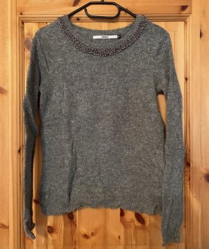 Wollpullover grau Only XS