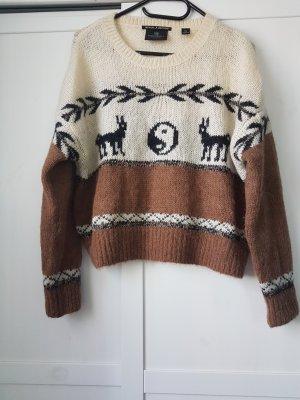Wollpullover mit Alpak. Wolle