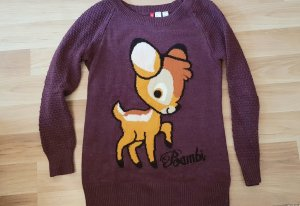 Wollpullover mit Bambi