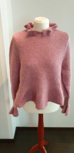 Zara Wool Sweater dusky pink