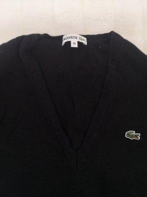 Wollpullover mit V Ausschnitt von Lacoste