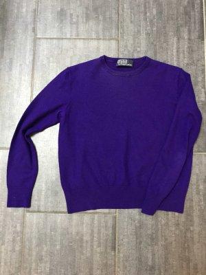 Polo Ralph Lauren Cropped Jumper dark violet-lilac