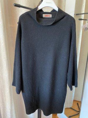 Kontatto Fine Knit Jumper black wool