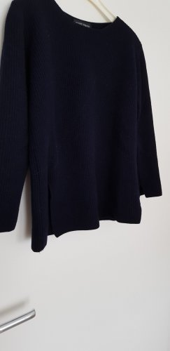 Bernd Berger Wool Sweater dark blue