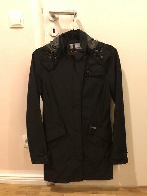 Woolrich Raincoat dark blue