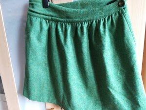 Gant Wool Skirt green-grass green