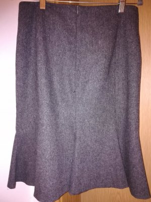 1.2.3. UN DEUX TROIS Paris Rozkloszowana spódnica szary-antracyt