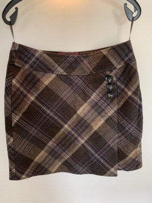 s.Oliver Wool Skirt multicolored