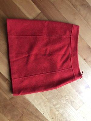 Weekend Max Mara Wełniana spódnica czerwony