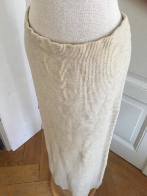 Tandem Jupe en laine blanc cassé