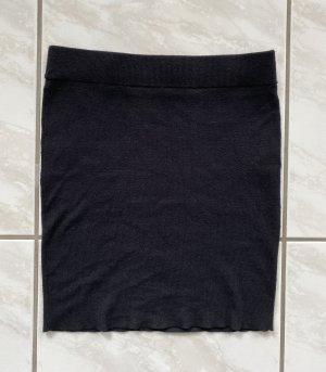 Noisy May Jupe en laine noir