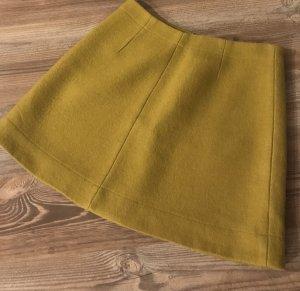 COS Wool Skirt sand brown